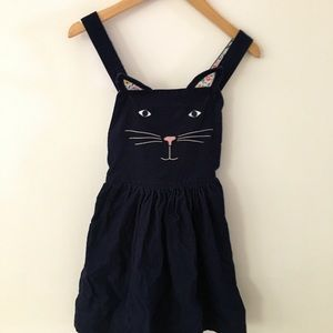 Boden pinafore dress made from soft cord